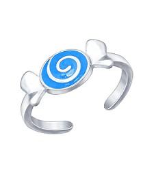 """Кольцо """"Голубая карамелька"""""""