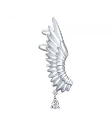 """Серьги каффы """"Крыло ангела"""""""