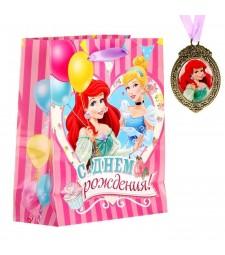 """Пакет ламинированный """"С Днем Рождения"""" Принцессы"""
