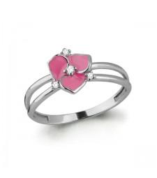 "Кольцо ""Лютики розовые"""