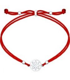 """Браслет красный шнурок """"Загадай желание свое"""""""