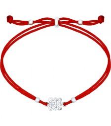 """Браслет красный шнурок """" Исполнение желаний"""""""